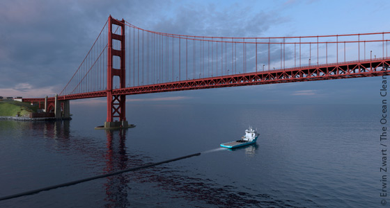 The Ocean Cleanup started waste collection in Pacific Ocean