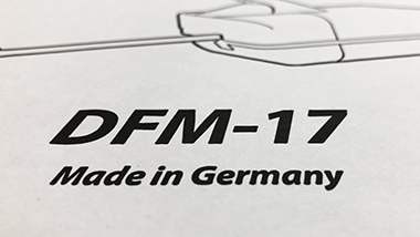 DFM-17 received a very positive echo
